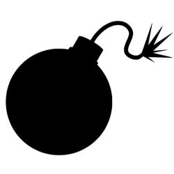 icone bombe
